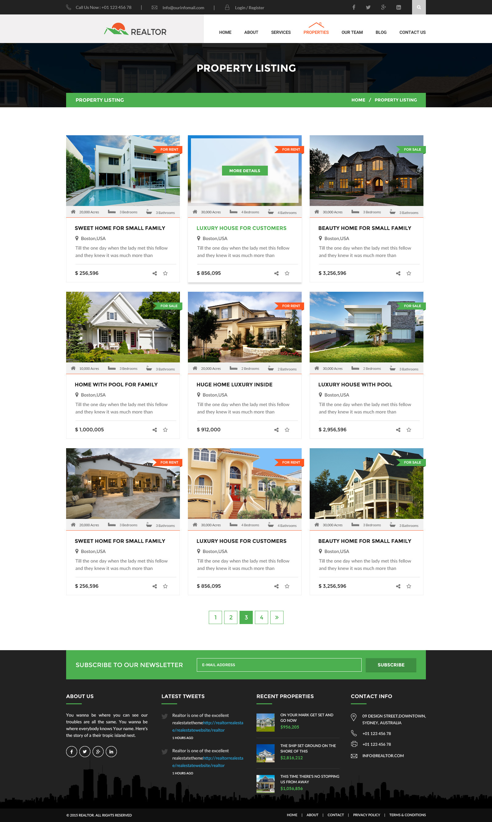 realtor real estate html template by wpmines themeforest screenshots 07 property listing jpg