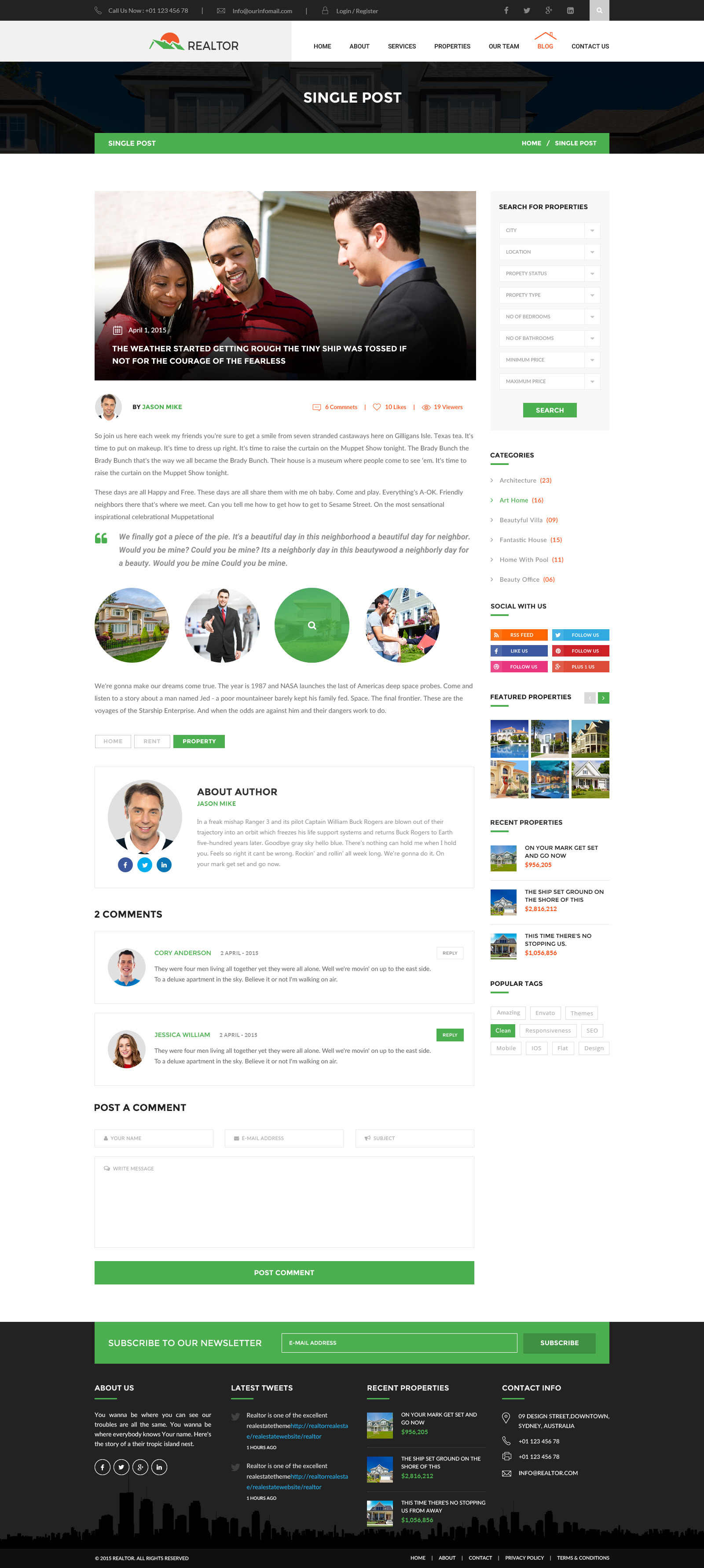 realtor real estate html template by wpmines themeforest screenshots 06 our agents jpg screenshots 07 property listing jpg screenshots 08 blog jpg screenshots 09 property details jpg