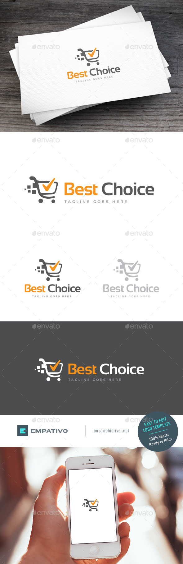 GraphicRiver Best Choice Logo Template 11307369