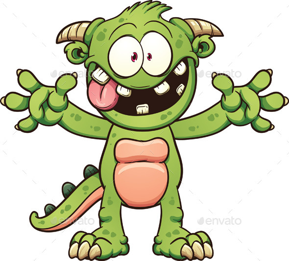 GraphicRiver Cartoon Monster 11307400
