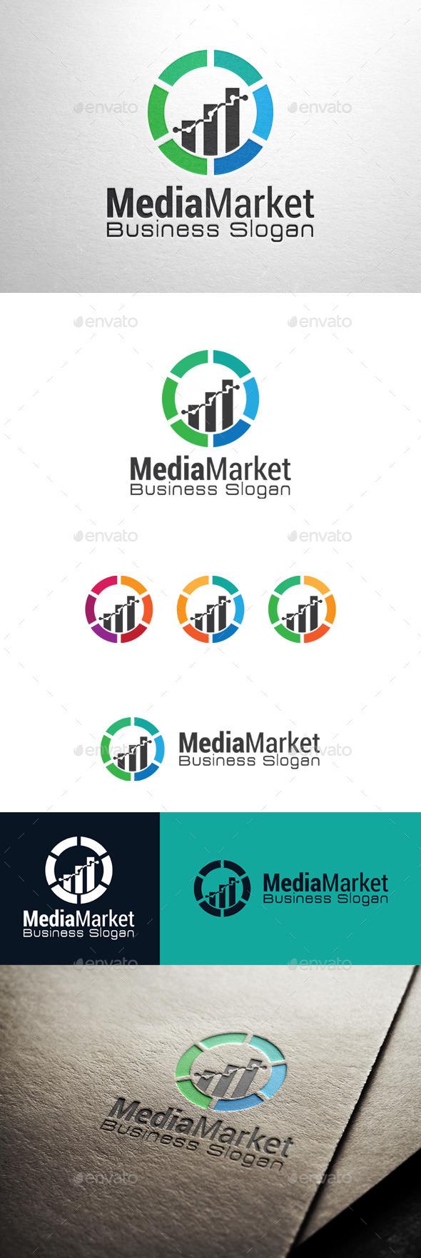 GraphicRiver Media Market Logo 11307410