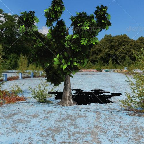 3DOcean tree 139636