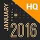 2016 Calendar - GraphicRiver Item for Sale