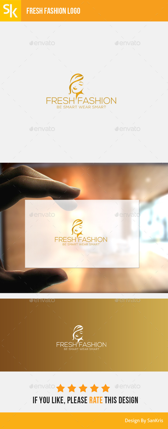 GraphicRiver Fresh Fashion Logo 11307644