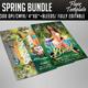 Spring Flyer Bundle  - GraphicRiver Item for Sale