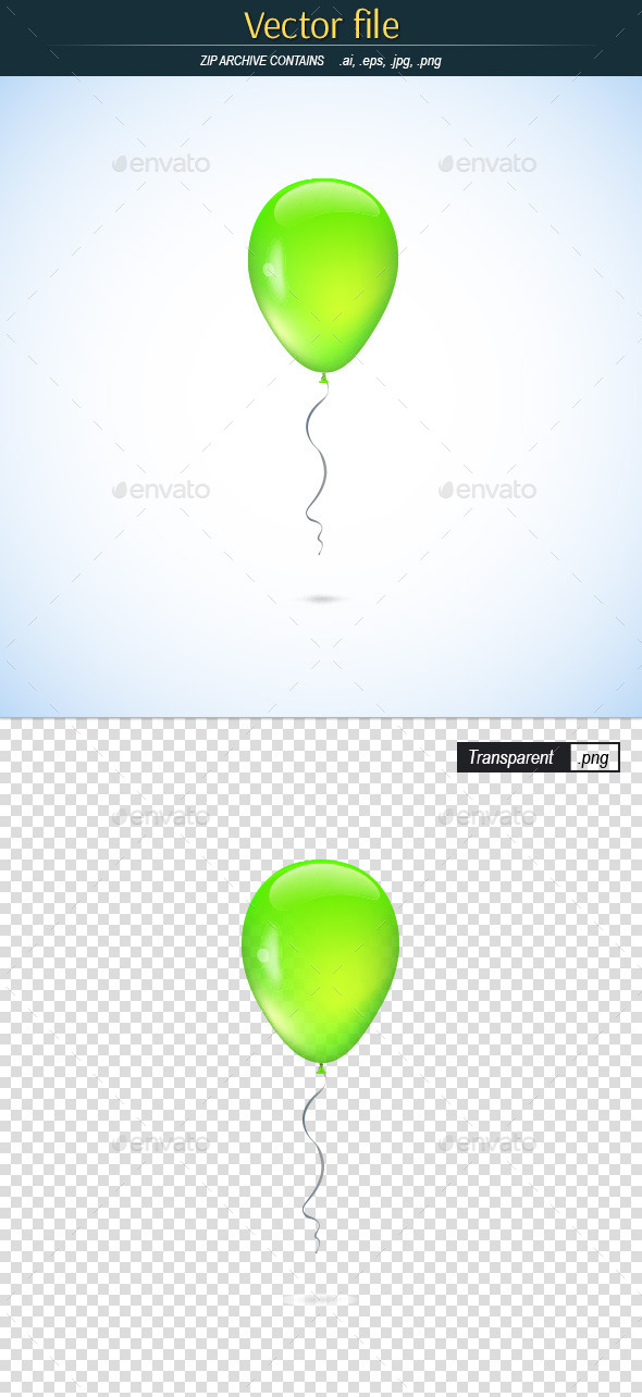 GraphicRiver Ballon Green Color 11308662