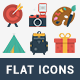100 Fresh Flat Icons - GraphicRiver Item for Sale