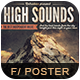 High Sounds Flyer Poster - GraphicRiver Item for Sale