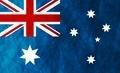 Australian grunge flag - PhotoDune Item for Sale