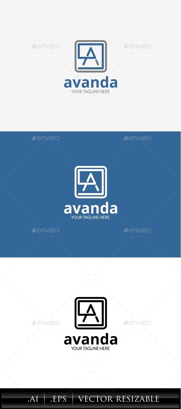 GraphicRiver Avanda Letter A Logo 11309053