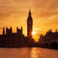 Big Ben clock tower in London at sunse - PhotoDune Item for Sale