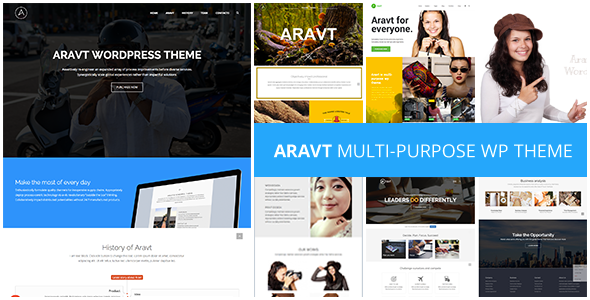 ThemeForest Aravt Creative MultiPurpose Theme 11087590