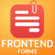 Frontend Forms for Wordpress - CodeCanyon Item for Sale