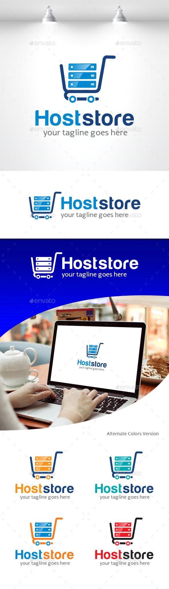 GraphicRiver Host Store Logo 11309467