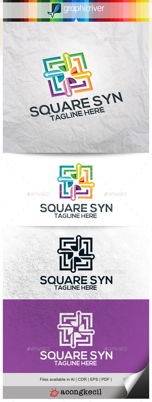 GraphicRiver Square Synergy 11309521