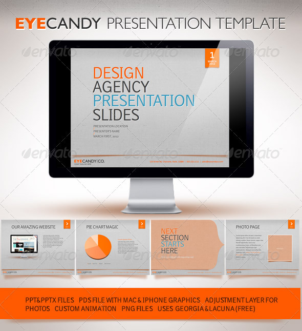 GraphicRiver Eyecandy Powerpoint Presentation 1133444