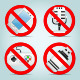 Technology Prohibited Signs - GraphicRiver Item for Sale