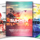 Natural Sound Summer Flyer - GraphicRiver Item for Sale