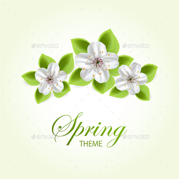 GraphicRiver Three Flowers 11309741