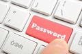 Pressing password key on keyboard - PhotoDune Item for Sale