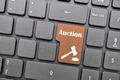 Auction key on keyboard - PhotoDune Item for Sale