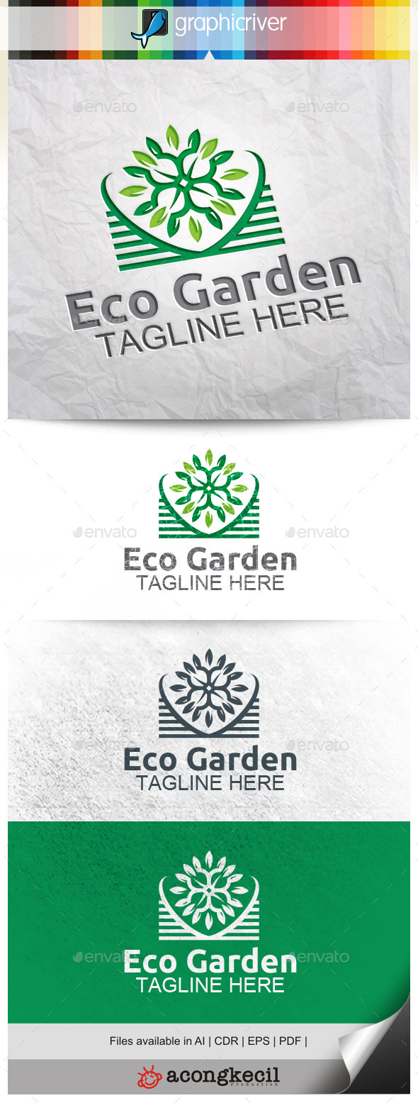 GraphicRiver Eco Garden V.5 11309927