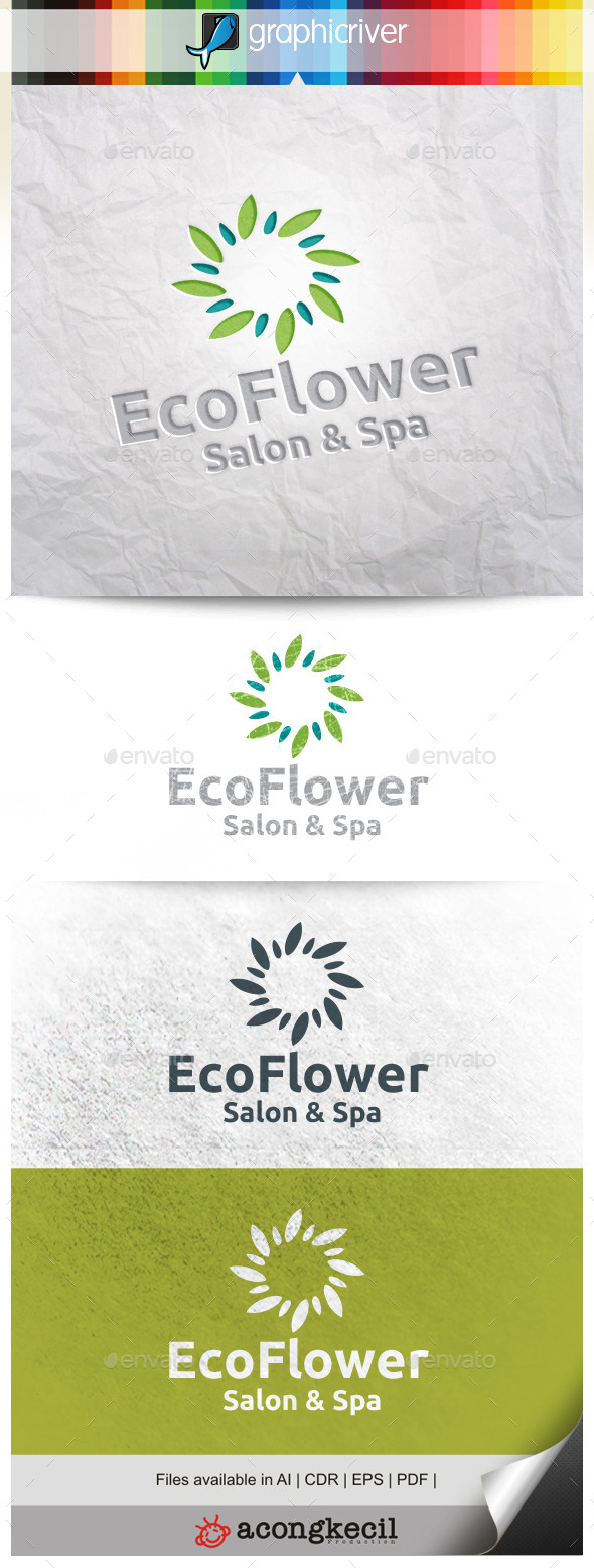 GraphicRiver Eco Flower V.2 11310079