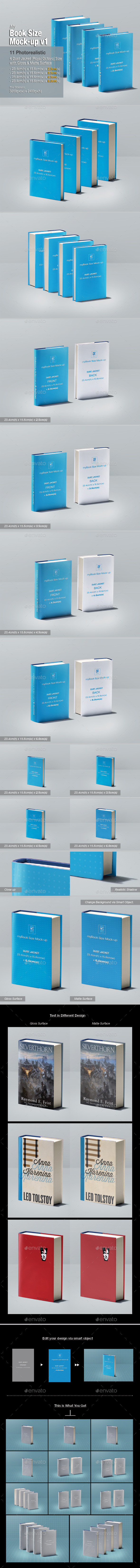 GraphicRiver myBook Size Mock-up v1 11310170