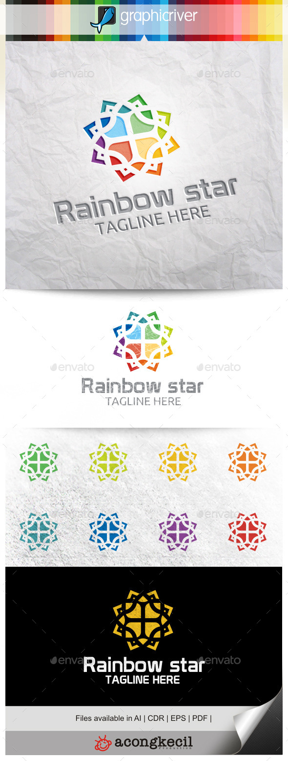 GraphicRiver Rainbow Star V.3 11310173