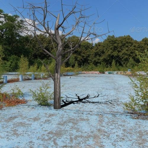 3DOcean dead tree 139681