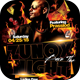 DJ Burn The Night Flyer Template - GraphicRiver Item for Sale