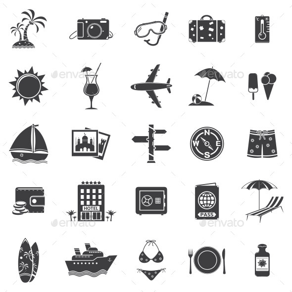 GraphicRiver Travel Icons 11310835