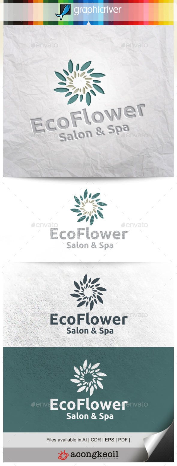 GraphicRiver Eco Flower V.3 11311257