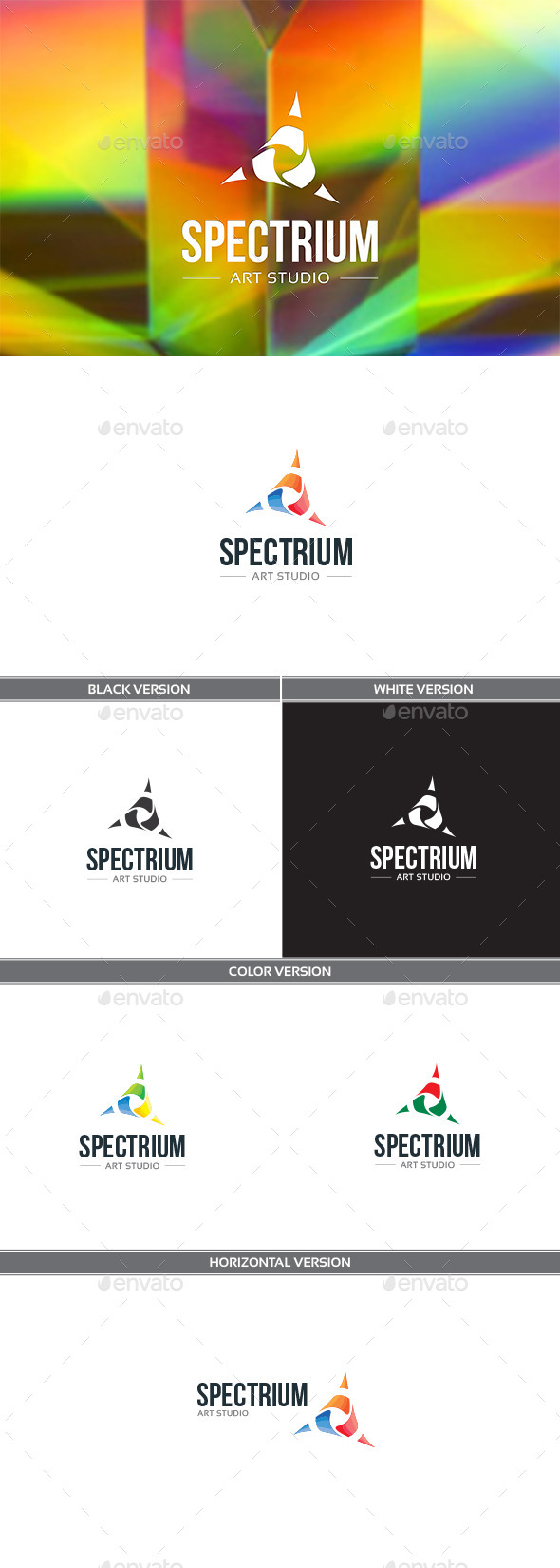 GraphicRiver Spectrium Logo 11311280