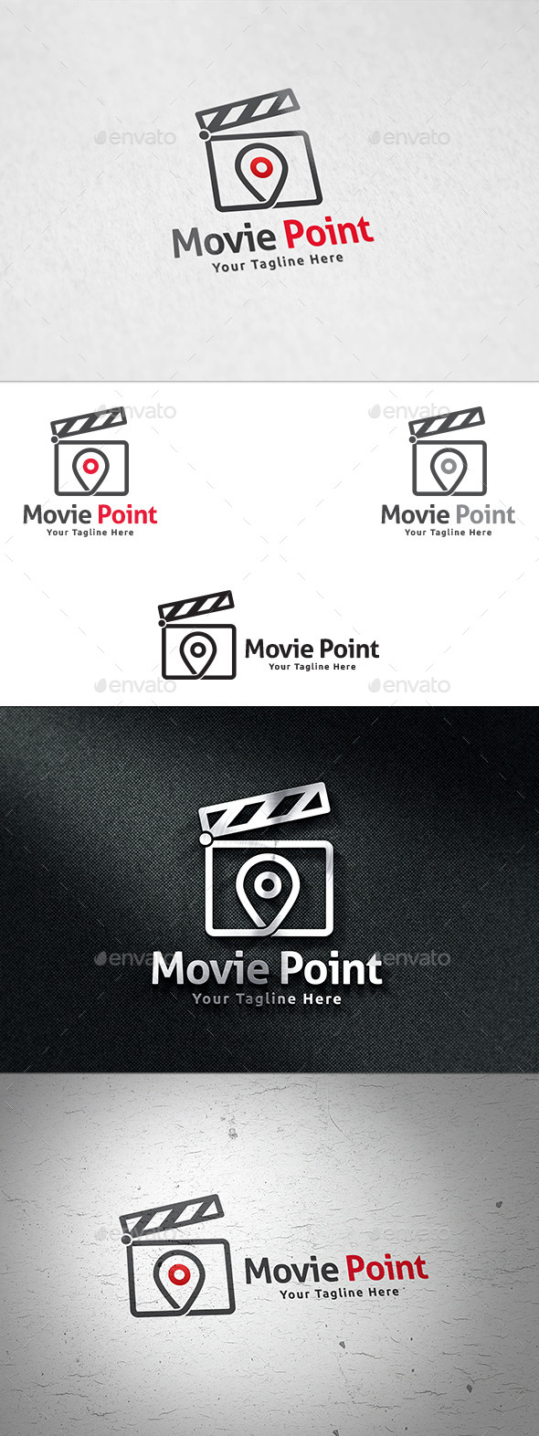GraphicRiver Movie Point Logo Template 11311301