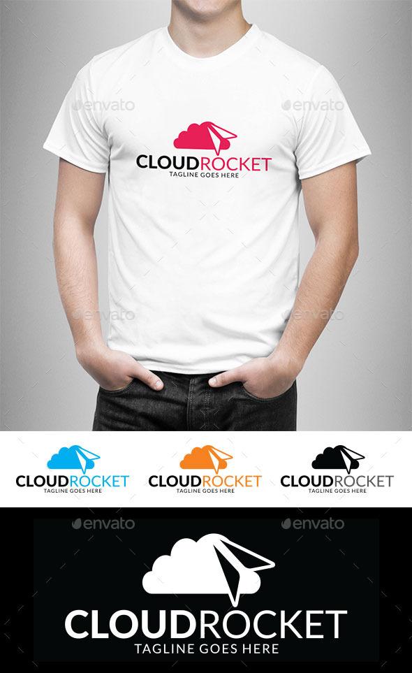 GraphicRiver Cloud Rocket 11311310