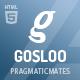 Gosloo - Responsive Portfolio Template - ThemeForest Item for Sale
