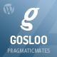 Gosloo - Responsive WordPress Portfolio Theme - ThemeForest Item for Sale