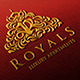 Royals Luxury Apartments Logo - GraphicRiver Item for Sale
