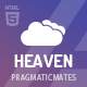 Heaven - Onepage & Multipage Creative Template - ThemeForest Item for Sale