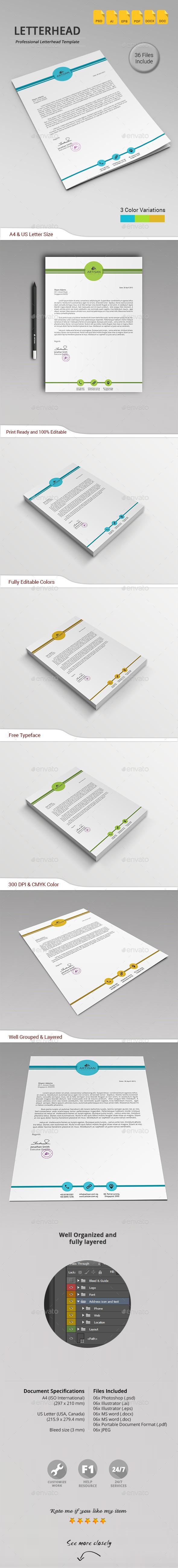 GraphicRiver Letterhead 11311650