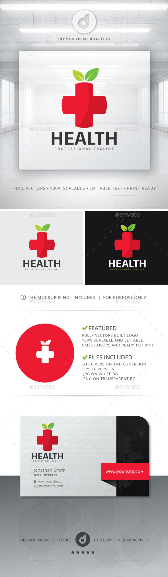 GraphicRiver Health Logo 11311755