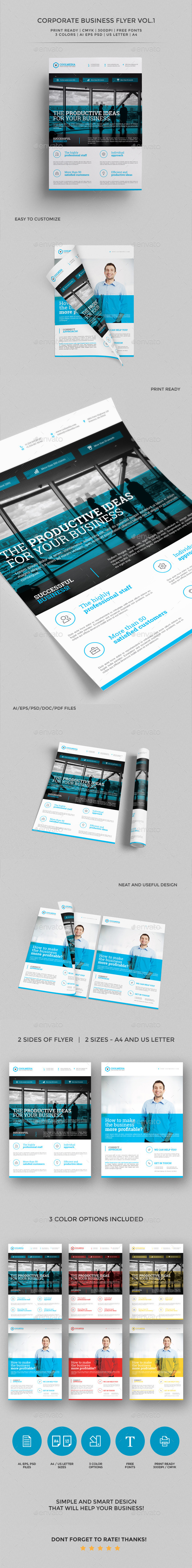 GraphicRiver Corporate Business Flyer vol 1 11312361