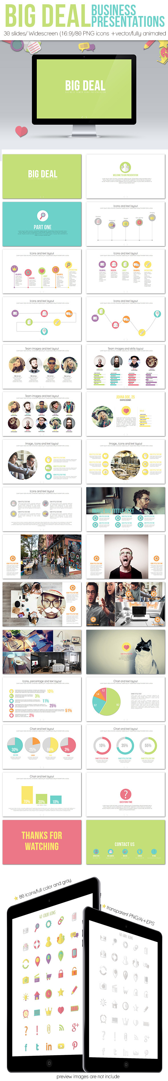GraphicRiver Big Deal Business Presentation 11312377