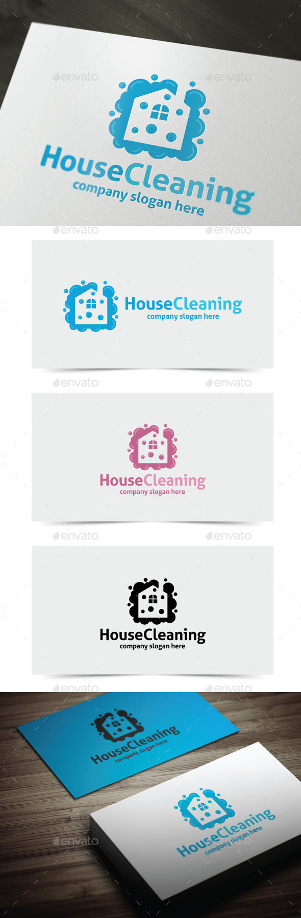 GraphicRiver House Cleaning 11312907