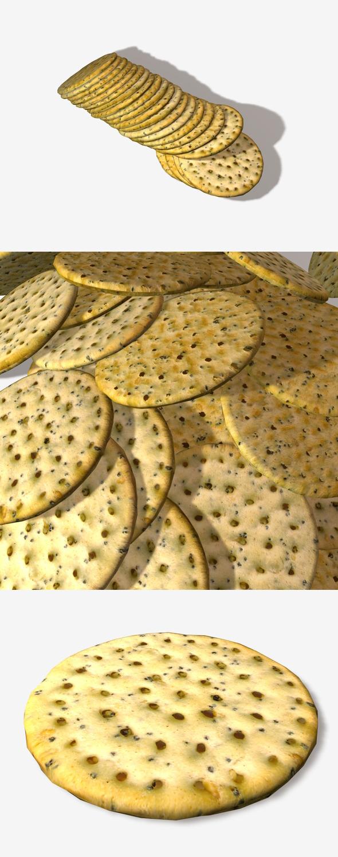 3DOcean Poppyseed Cracker 11313205