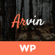 Arvin - Multipurpose One Page WordPress Theme - ThemeForest Item for Sale