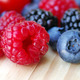 Ripe Sweet Raspberry, Blueberry and Blackberry fruits - PhotoDune Item for Sale