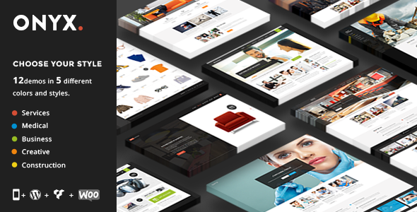 ThemeForest Onyx A Powerful Multi-Concept Business Theme 11313269