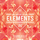 The Elements | Abstract Minimal Flyer PSD Template - GraphicRiver Item for Sale